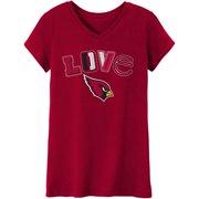 NFL Arizona Cardinals Girls Long Sleeve Cotton Tee