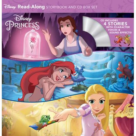 Disney Princess Read-Along Storybook and CD Boxed - Halloween Stories For Children Disney