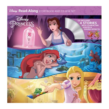 Disney Princess Read-Along Storybook and CD Boxed Set - Halloween Read Along Stories