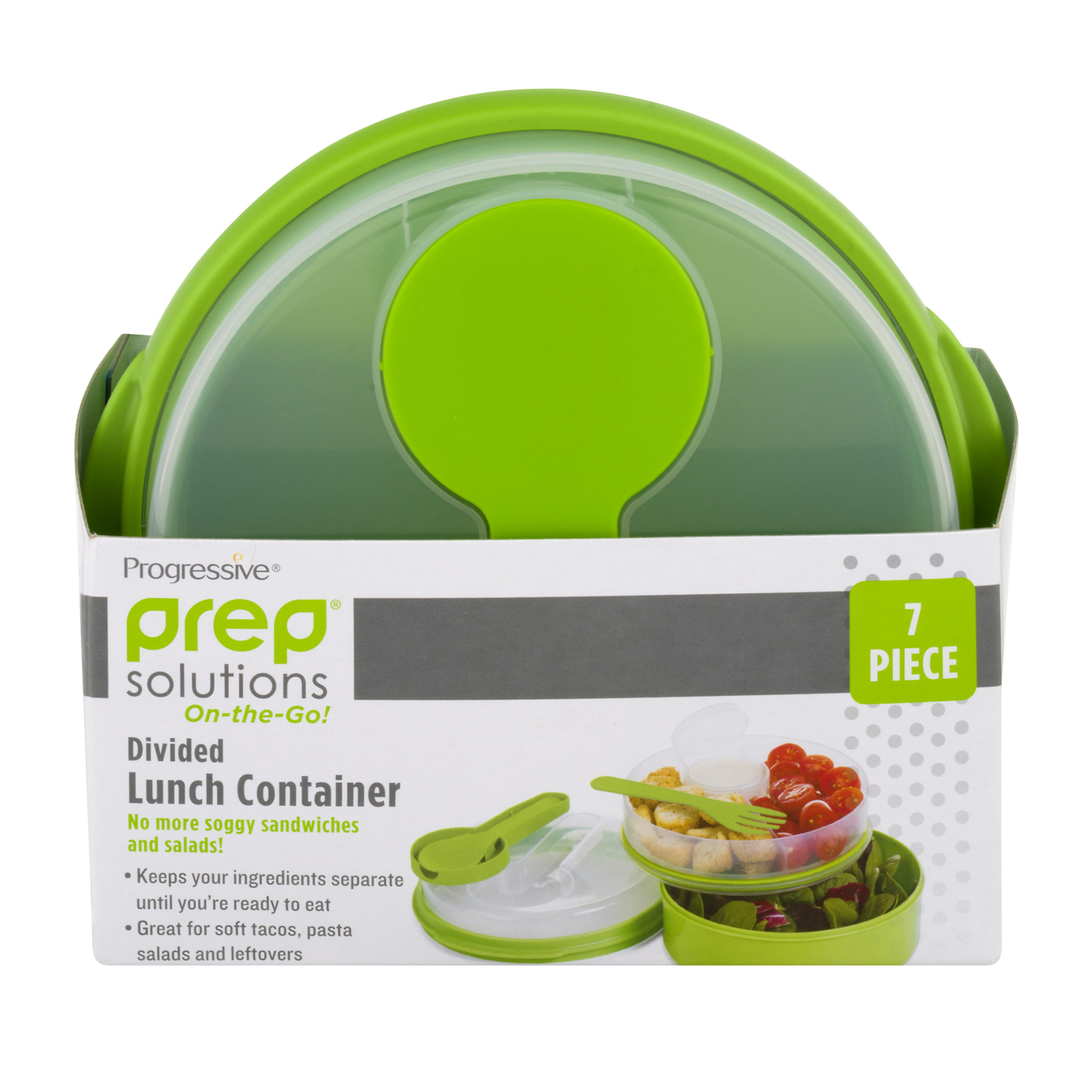 Prep Solutons On-The-Go Divided Lunch Container, 1.0 CT