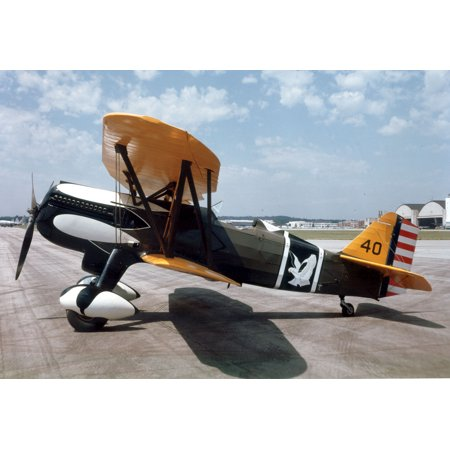 LAMINATED POSTER 17th Pursuit SquadronCurtiss P-6E Hawk 32-261 at the National Museum of the United States Air For Poster Print 24 x 36