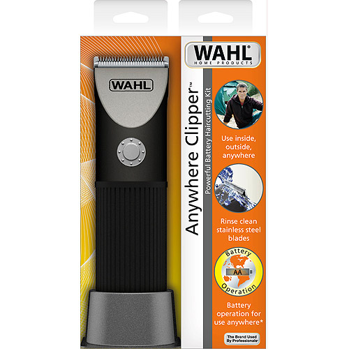 Wahl Model Anywhere Clipper Battery Haircutting Kit