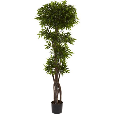 Nearly Natural 5' Ruscus Tree