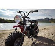 Coleman Powersports 200cc Gas Powered Mini Bike - Red and Black