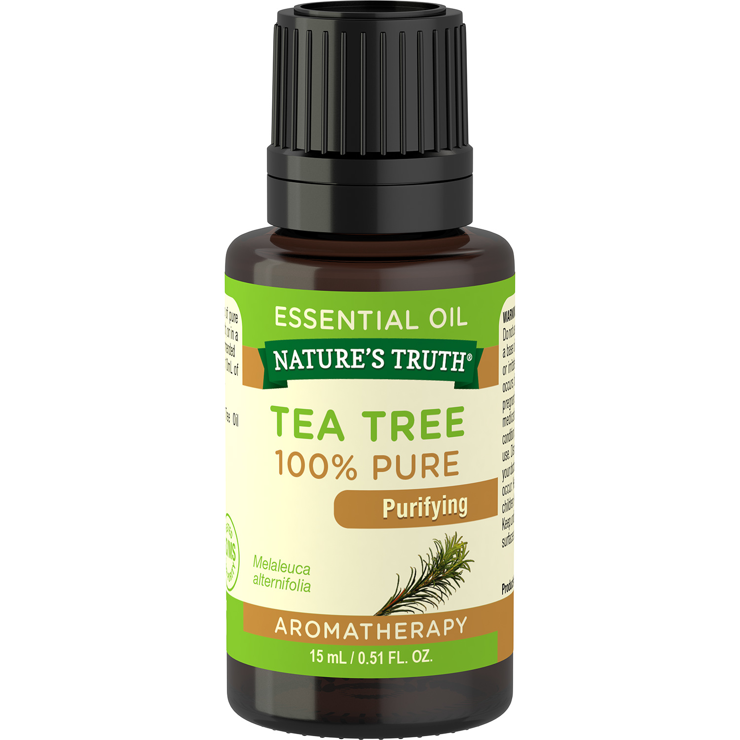 Nature's Truth Aromatherapy 100% Pure Essential Oil, Tea Tree, 0.51 Fl Oz