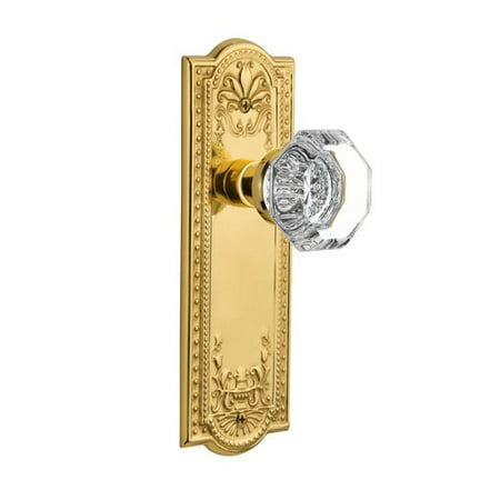 Nostalgic Warehouse Waldorf Door Knob with Meadows Plate