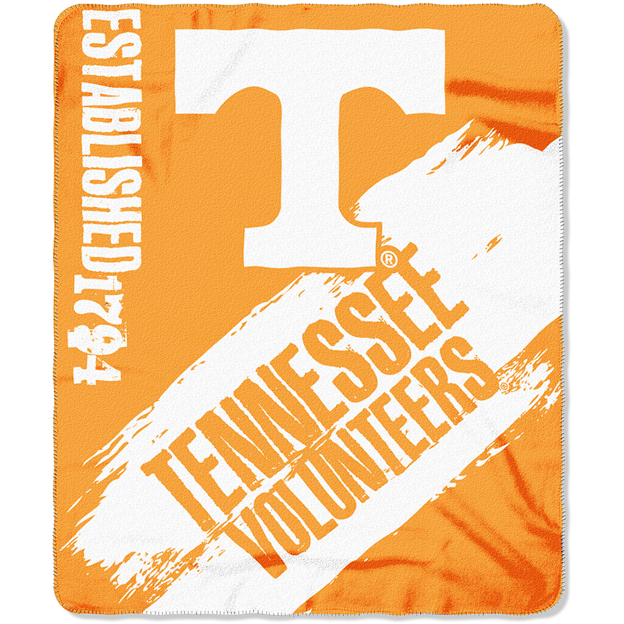 "NCAA Tennessee Volunteers 50"" x 60"" Fleece Throw"
