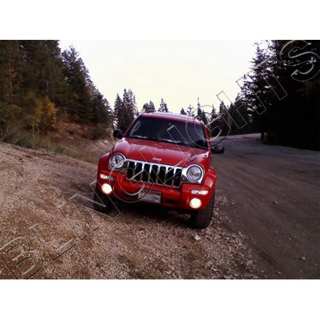 2002 2003 2004 Jeep Liberty Xenon Fog Lamps Driving Lights Foglamps Jeep Liberty Fog Light Wiring Harness on