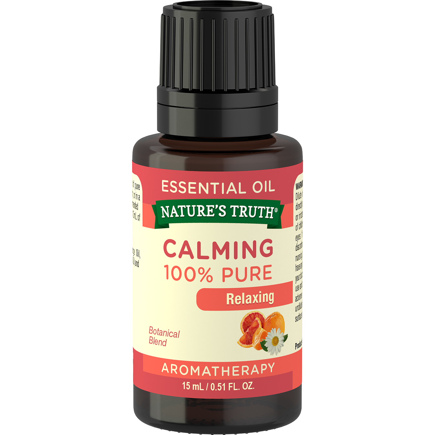 Nature's Truth Aromatherapy Calming 100% Pure Essential Oil, Relaxing, 0.51 Fl Oz