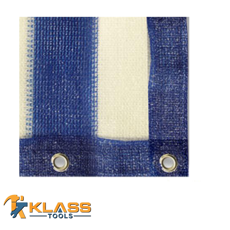 08 x 10 Feet Blue/White 150G Shade Net (Pack of 1)