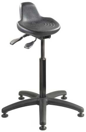 BEVCO Sit/Stand Stool 22  to 32 H Black ...  sc 1 st  Walmart & BEVCO Sit/Stand Stool 22