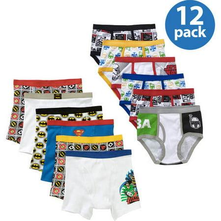 Bonus Bundle - Boys Character Underwear Bonus Pack Your Choice Value Bundle