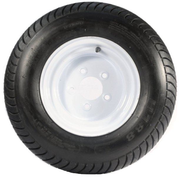 Trailer Tire On Rim 20 5 X 8 X 10 205 65 10 20 5x8 0 10 5 Lug
