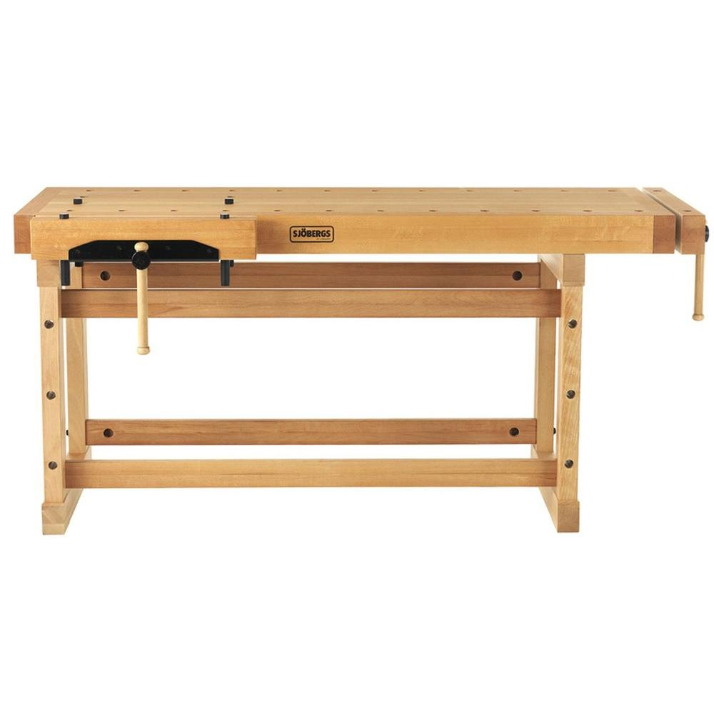 Sjobergs SJO-33458K 35 x 29-Inch 500-Lbs Capacity Straight Edge Workbench by