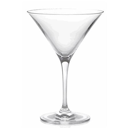 Mini Martini Glasses Plastic (Classic Premium Martini Glasses, 18-Ounce, Set Of)