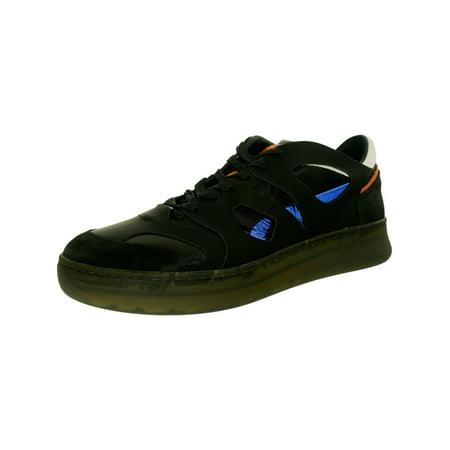 - Puma Men's Mcq Move Lo Black-Black-Surf The Web Blue Ankle-High Leather Tennis Shoe - 12M