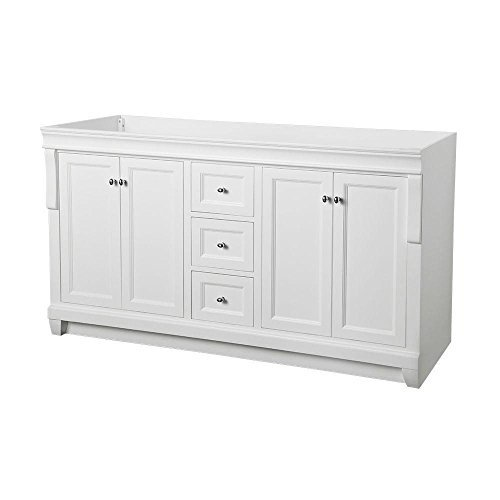 Foremost Nawa6021d Naples 60 X 21 1 2, 21 Vanity Cabinet