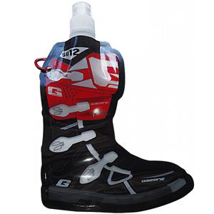 Smooth Industries Gaerne Eco-Friendly 14oz SG-12 Boot Foldable Water Bottle Black/Red