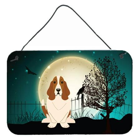 halloween scary basset hound wall or door hanging prints bb2211ds812 - Basset Hound Costumes Halloween
