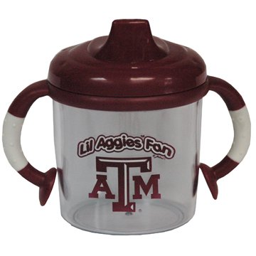 Lil Texas A&M Aggies Fan No Spill Sippy Cup
