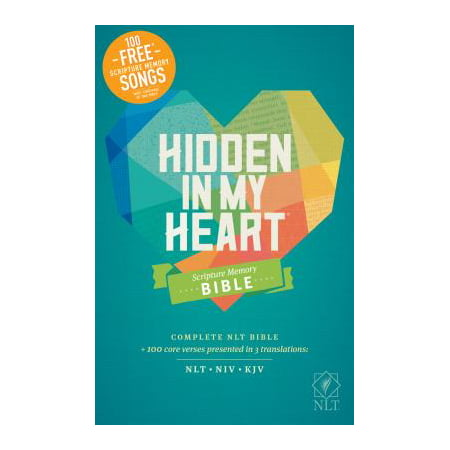 Hidden in My Heart Scripture Memory Bible NLT (Softcover)](Living Water Scripture)