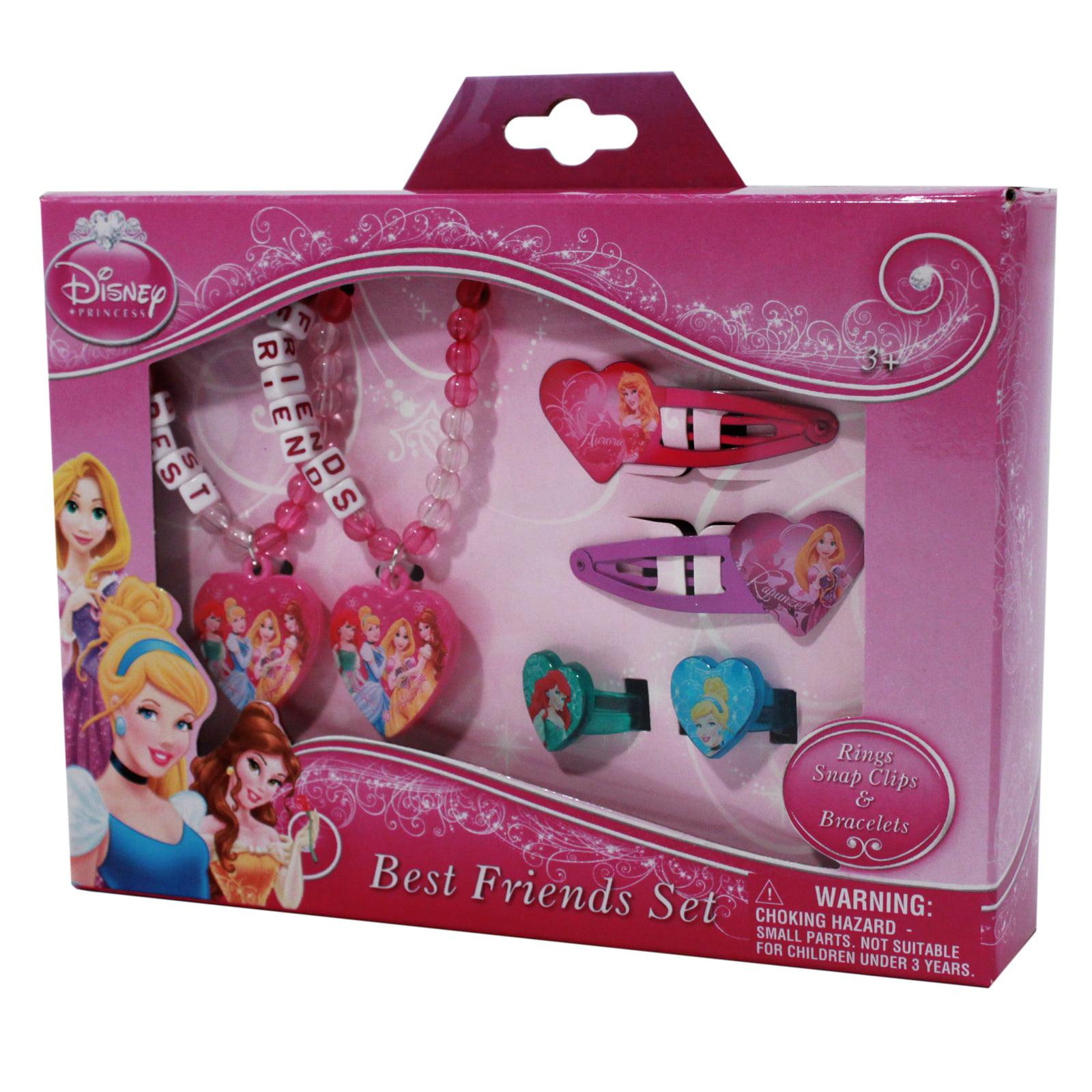 Disney Princess Best Friend Dress-up Hair Styling Set with Bracelets ...