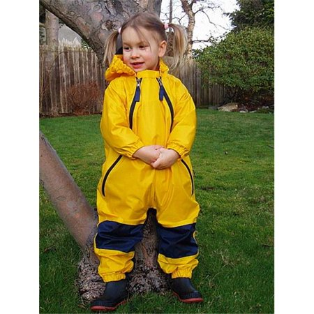 3e2c1c5f0c9cd3 Tuffo LLC MBY-005 Muddy Buddy Waterproof Rain Suit- Yellow- Size 4T ...