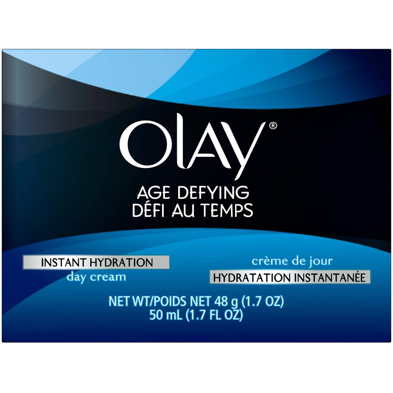 Olay Age Defying Instant Hydration Day Cream Facial Moisturizer 1.7 Oz