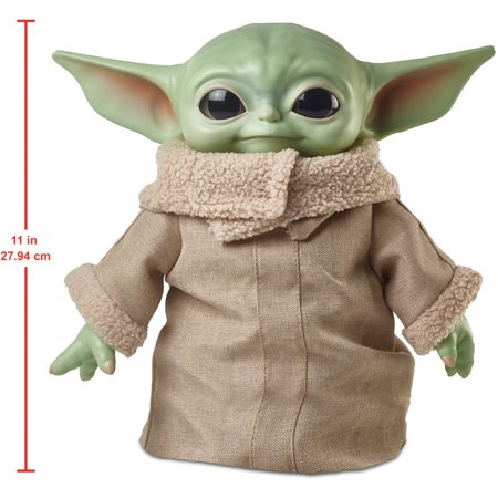 Star Wars the Child Plush Toy, 11-Inch Small Baby Yoda Like Soft Figure from the Mandalorian
