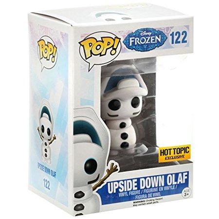 Funko Disney Frozen POP! Movies Upside Down Olaf Exclusive Vinyl Figure #122 [Hot Topic