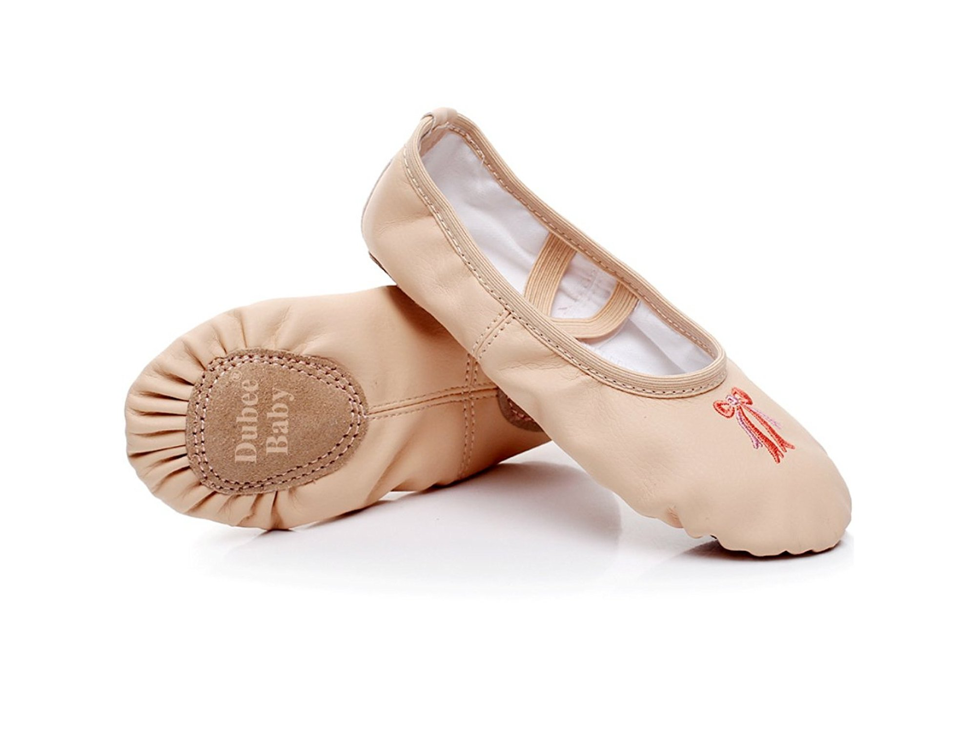 Ballet Leather Shoes Toddler Infant Baby Girl Dance Pumps Full Sole