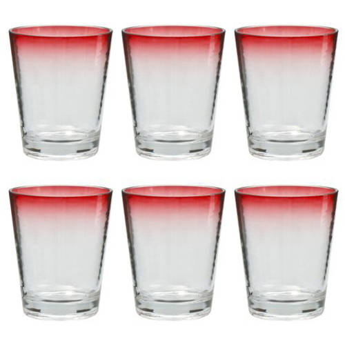 Better Homes and Gardens Color Rim 14 oz Tumbler, 6-Pack