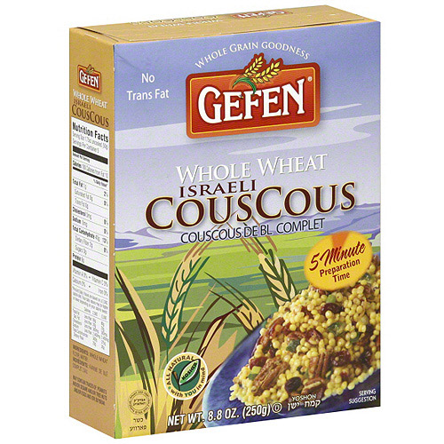 Gefen Whole Wheat Couscous, 8 oz (Pack of 12)