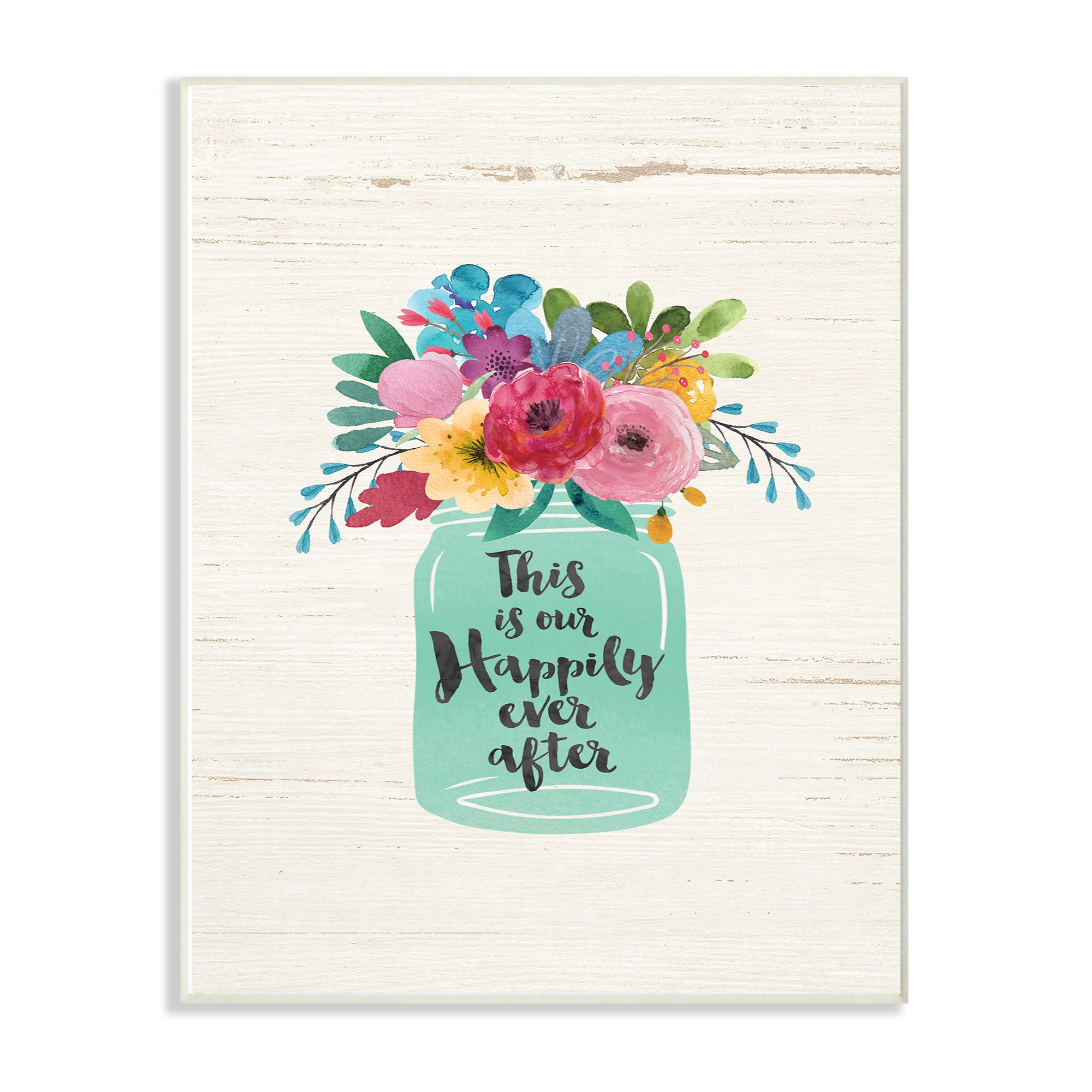 12 Home Decor Gift Ideas From Walmart: The Stupell Home Decor Collection This Is Our Happily Ever