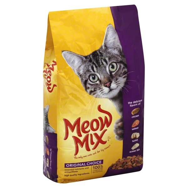 Meow Mix Original Choice Dry Cat Food, 6.3-Pound Bag