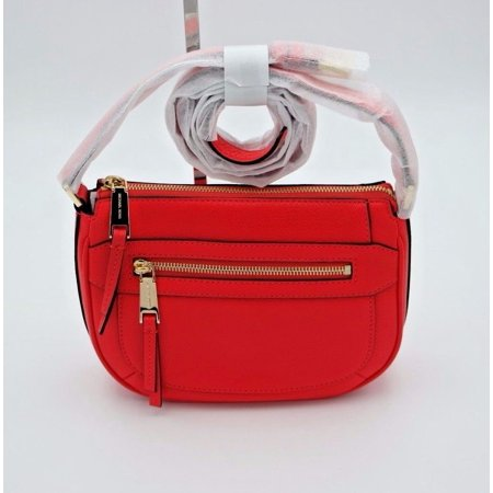 e303c182420d MICHAEL Michael Kors - Michael Kors Pink Julia Medium Leather Messenger  Crossbody Bag - Walmart.com
