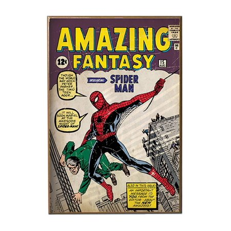 Wood Spiderman Amazing Fantasy 13