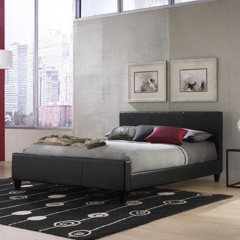 Fashion Bed Group Euro Upholstered Panel Bed