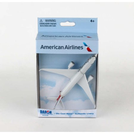 Diecast Metal Aircraft Toy Commercial Airplane - American Airlines Airbus (America West Express Airlines)