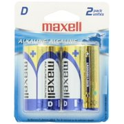 MAXELL MXLD2PKM Maxell 723020 LR20 2BP D Cell 2 Pack Battery