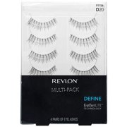Revlon Define Eyelashes Multi-Pack, 91156/D20, 4 pr