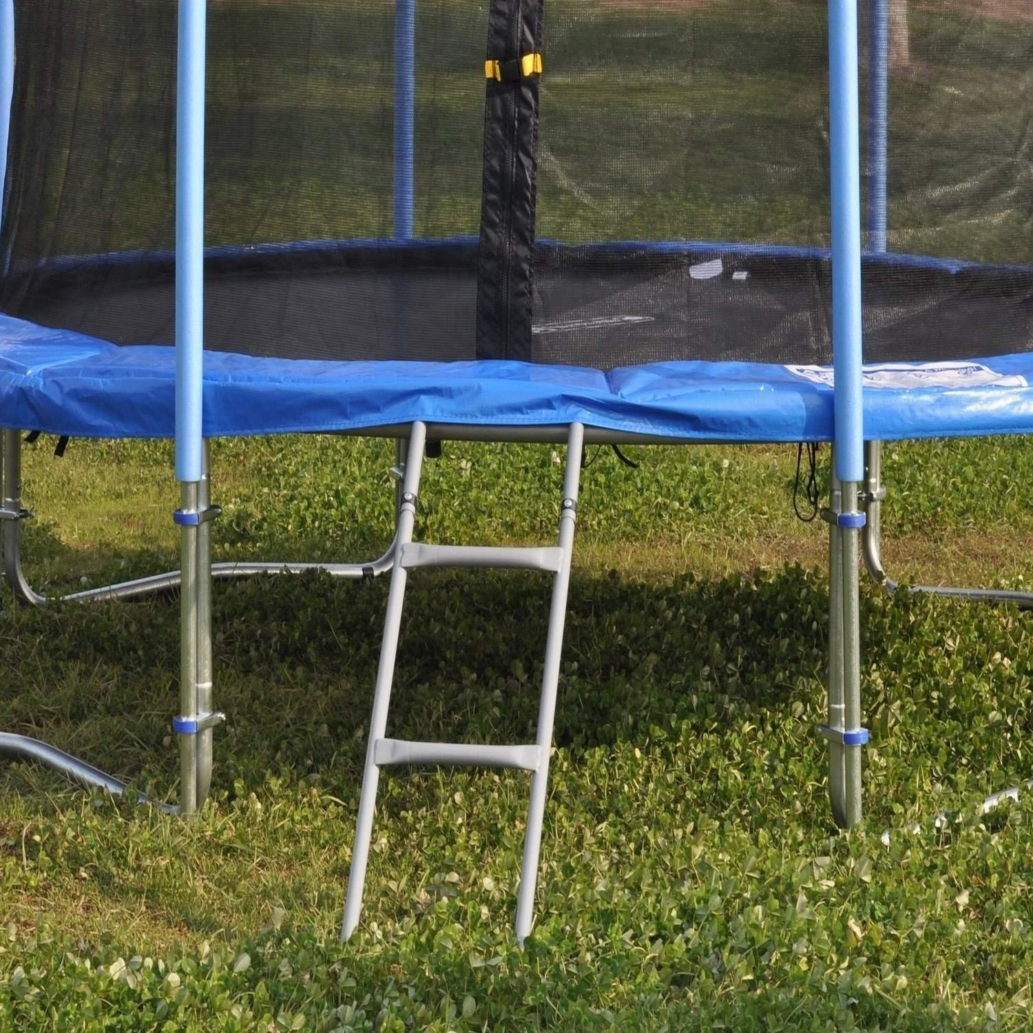 90cm Heavy Duty Trampoline Ladder 2 Steps Tpby
