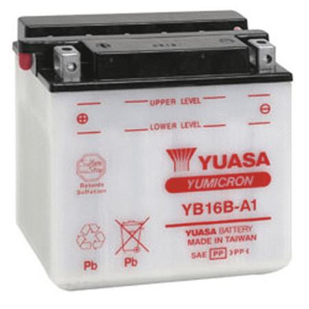 Yuasa Yb16b A1 Yumicron 12 Volt Battery Walmart Com