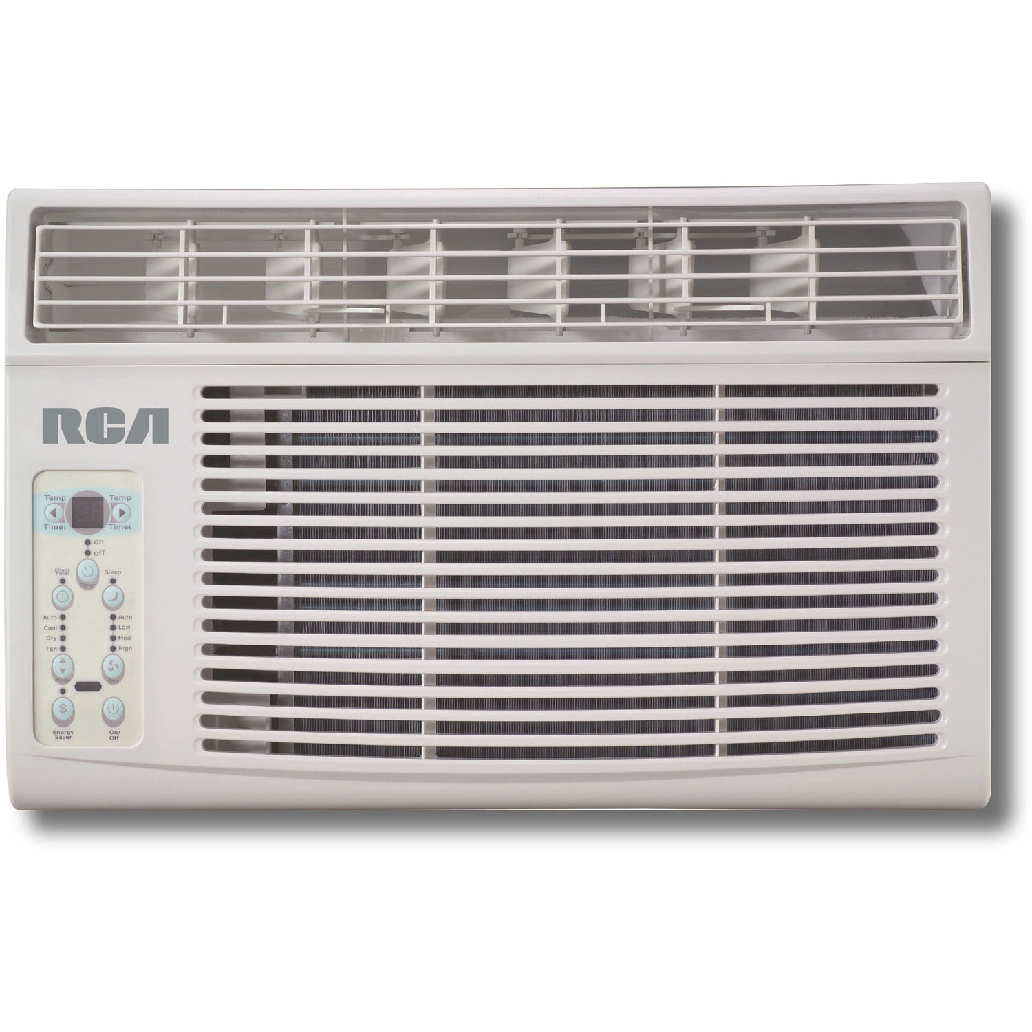 RCA RACE8002E 8,000-BTU Electronic Window Air Conditioner with Remote Control