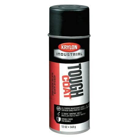 Krylon Tough Coat Acrylic Alkyd Enamels, 12 oz Aerosol Can, OSHA