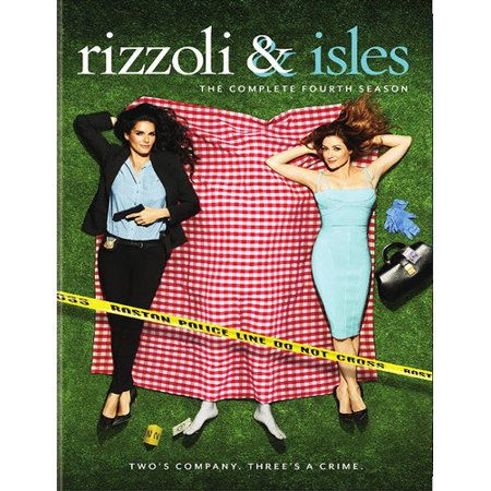 Rizzoli And Isles  The Complete Fourth Season