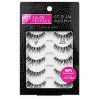 Deals on Salon Perfect Go Glam Multi Pack Lashes Demi Wispie 5 Pairs