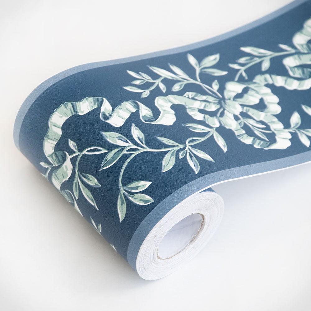 Ribbon & Vines - Self-Adhesive Wallpaper Borders Home Decor(Sample ...