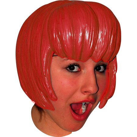 Latex Wig (Anime 6 Latex Blue Wig Adult Halloween)