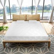 "Ktaxon New 10"" Inch Queen Traditional Firm GEL Memory Foam Mattress Bed with 2 Pillows"